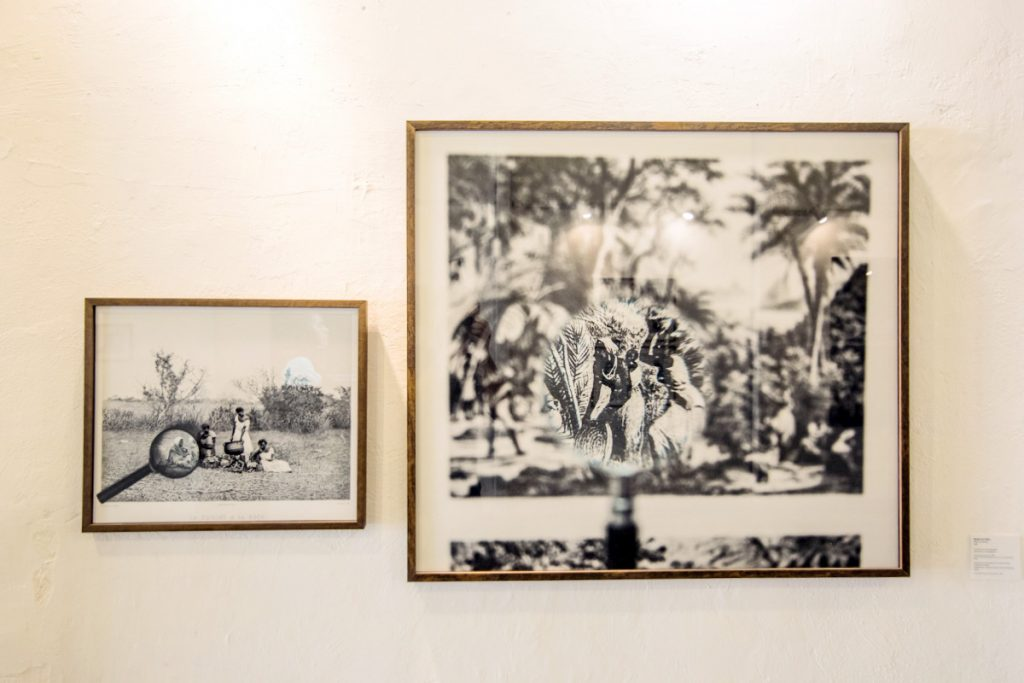 Abertura da exposição Mãe Preta, por Isabel Lögfren e Patrícia Gouvêa, curadoria de Marco Antônio Teobaldo, na Galeria Pretos Novos de Arte Contemporânea, localizada na Rua Pedro Ernesto nº32, Gamboa, Rio de Janeiro.