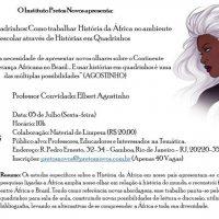 Minicurso Africa em quadrinhos